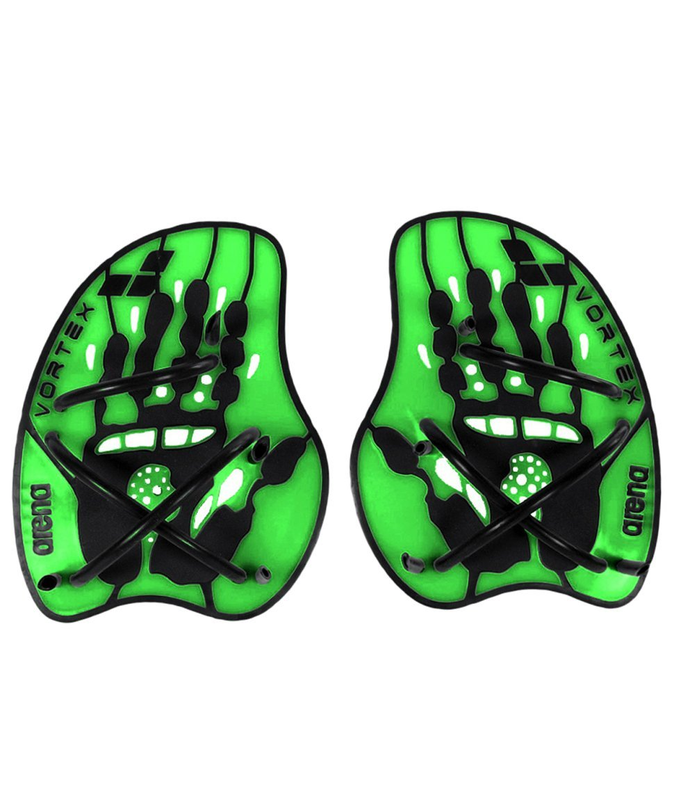 Фото Лопатки Vortex evolution hand paddleAcid lime/Black, 95232 65, размер M (296314) - интернет-магазин МегаТерем в Москве